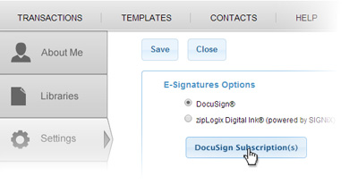 DocuSign for Real Estate